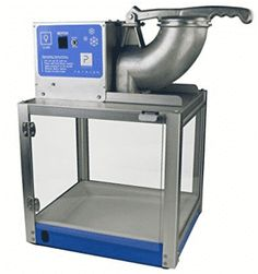 Paragon Simply-A-Blast SNO Cone Machine for Professional Concessionaires Requiring Commercial Heavy Duty Snow Cone Equipment Horse Power 792 Watts