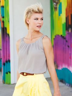 Burda Embroidered Tank 05/2013