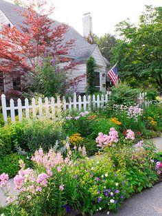 I wish my neighbor across the street had this yard so I could enjoy it, yet not tend to it.