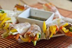 Spicy Spring Rolls - Gluten-Free and Low Fodmap