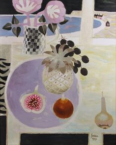 Still Life with Fig and Pineapple, 1991