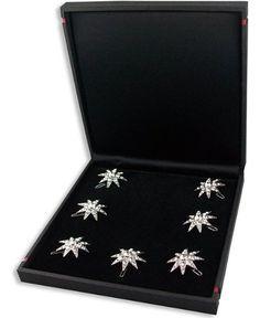 Blüten Curly Curlie Pin SISSI Haarschmuck Kristall Swarovski