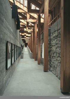 Sverre Fehn | Museo Hedmark | Hamar; Nourega | 1967-2005 | DigitaltMuseum