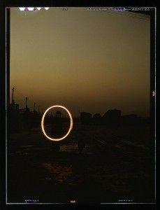 Jack Delano: Light Painting Photography, 1943