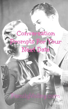 Bring these conversation prompts with you on your Valentine's date and learn something new about your spouse! Date Your Spouse - Converstation Prompts for Your Next Date