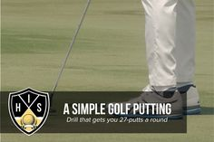 Golf Putting Drill