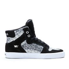Like the print. Not sure about the sparkly sequin stuff, but still pretty cool. $39.99 #supra