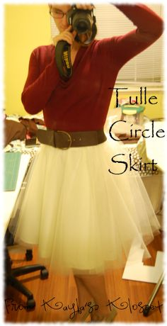 This would be great for me or the girls... I'd like to see it with more than one color of tulle.