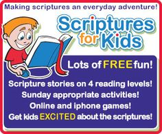 Lots of great LDS kid ideas! Helps for FHE, General Conference activities, and various fun activities for kids!