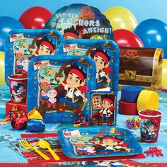 Jake and the Neverland Pirates birthday party decorations