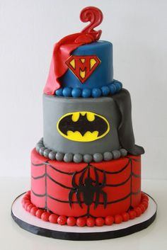 superheroes  Kids Birthday Cakes « Sweet & Saucy Shop Sweet & Saucy Shop