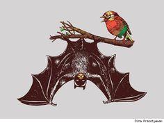 """Bat & Robby"" by Dina Prasetyawan"