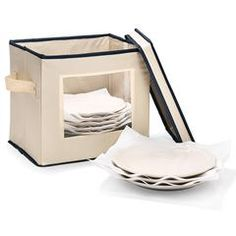 Salad Plate and Bowl Storage