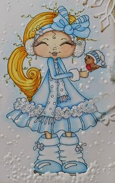 Lisbeths kort og scrap: Jul i Juli @ My Besties Norge Adult Coloring, Coloring Books, Coloring Pages, Besties, Digi Stamps, Cute Little Girls, Drawing For Kids, Cute Dolls, Kids Cards