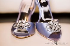 Chic wedding shoes in lavender