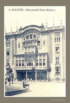 Cine Monumental. Ubicado en Alfonso X el Sabio. DESAPARECIDO