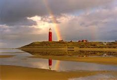 Texel vuurtoren Somewhere Over, Over The Rainbow, Ciel, Light Up, Holland, Dutch, Clouds, America, Vacation