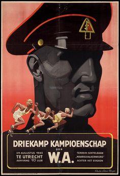 Driekamp Kampioenschap der W.A. 29 augustus 1943...