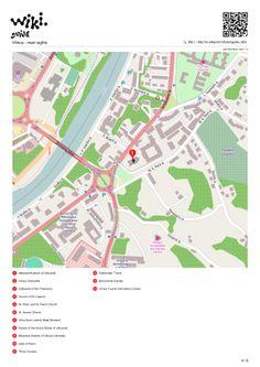 Map of Vilnius