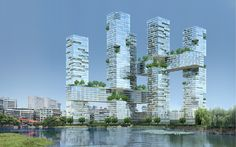 "WUHAN MIKADO by JDS | 3D-DREAMING ""Architecture from a digital point of view"""