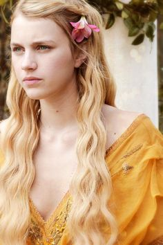 Princess Myrcella Baratheon. Myrcella is the only daughter of Cersei and Jamie Lannister, she was wounded by Ser Gerold Dayne known as the Dark Star of Dorne.