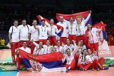 Medalla - Voleibol - Serbia - Femenino - Femenino, medalla de oro…