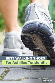 Foot pain can be a factor that stops many people from walking. If you suffer from Achilles tendonitis, even walking through a store or around the house can be painful. There are two types of Achilles tendonitis. One affects the lower part of the heel, and the other is further up the tendon and […] Best Walking Shoes, Best Running Shoes, Running Gear, Marathon Running, Achilles, Fitness Tracker, Workout Gear, Hiking Boots, Active Wear