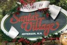 "Santa's Village (Jefferson, NH): Santa's Village is a Christmas-themed amusement park located in Jefferson.  Most of the 16 rides have Christmas or winter-themed names, such as ""Rudy's Rapid Transit Coaster"" and ""The Great Humbug Adventure"". The rides are designed for families with children under age 13."