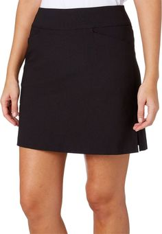 Lady Hagen Women's Tummy Control Golf Skort | DICK'S Sporting Goods Sports Skirts, Golf Skirts, Mini Skirts, Golf Attire, Tennis Skort, Crepe Fabric, Sport Wear, Nike Women, Plus Size