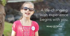 In honor of #WorldWishDay, explore the possibility of Make-A-Wish for a child.
