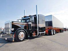 Millions of Semi Trucks Show Trucks, Big Rig Trucks, Peterbilt 359, Peterbilt Trucks, Cement Mixers, Custom Big Rigs, Vehicles, Trailers, Jeeps