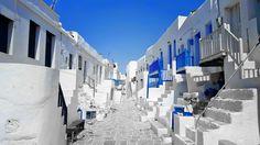 Folegandros, old town, castle
