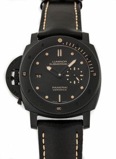 Panerai Luminor Submersible 1950 3 Days Ceramica Left-Handed (PAM607) (limited to 50 pieces)