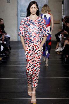 Felipe Oliveira Baptista Spring 2013 Ready-to-Wear Fashion Show - Lida Fox (Next)