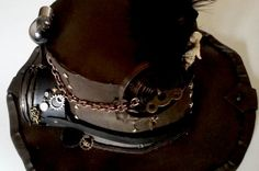 Check out this stunning steampunk hat...click to get more details!