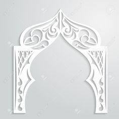 indian arch black outline - Google Search