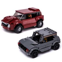 LEGO MOC 76903 Compact Crossovers by Keep On Bricking | Rebrickable - Build with LEGO