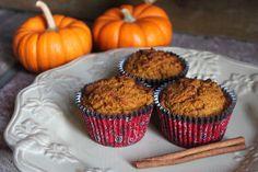 Paleo Pumpkin Muffins and more of the best paleo pumpkin recipes on MyNaturalFamily.com #paleo #pumpkin #recipe