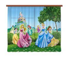 Rideaux de voilage - Château de Princesses Disney