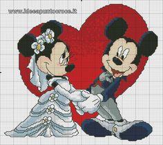 Minie y mickey apunto de casarse