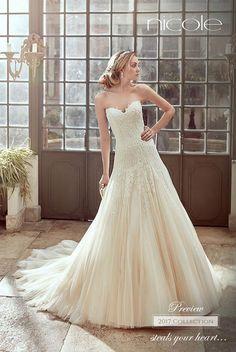 Wedding Dresses of Nicole Spose Wedding Dresses Photos, Wedding Dress Styles, Dream Wedding Dresses, Designer Wedding Dresses, Wedding Gowns, 2017 Wedding, Wedding Pics, Gorgeous Wedding Dress, Beautiful Gowns