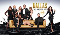 Série de televisão  Dallas , voltou a ser outra vez filmada mas agora com a imagem do nosso dia-a-dia podemos ver a diferença com o elenco e a forma como estes se apresentam .