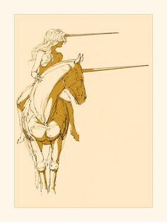 Les Narvals. Equus ferus. Infinite horizon by NegativeFeedback