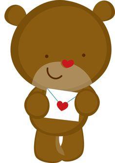 valentine teddy bear clip art