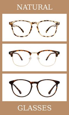 3 Pairs of Glasses for the natural body type, one of thirteen Kibbe body types. Naturals have broad and blunt bodies, but not as angular as dramatics.   The glasses that suit them the most are thick, slightly rounded, and a tortoiseshell pattern is always best.   Learn more about the Kibbe body types at cozyrebekah.com