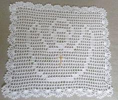 szatka do chrztu w Magnolia-dziergana na DaWanda.com