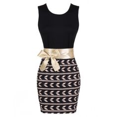 Fashion Women Sleeveless Print Bodycon Mini Dress With Belt Online (3,475 INR) ❤ liked on Polyvore featuring dresses, belted dress, white dress, white mini dress, pattern dress and white bodycon dress