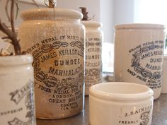 Ironstone containers