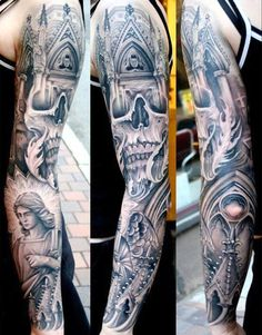 Tattoo Artist - Johan Finné - religious tattoo | www.worldtattoogallery.com