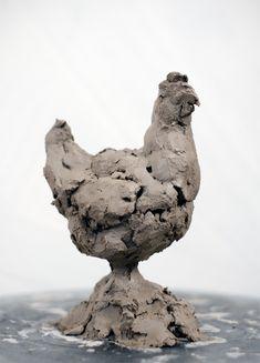 Gerelateerde afbeelding Ceramic Animals, Clay Animals, Ceramic Art, Animals And Pets, Animal Sculptures, Sculpture Art, 3d Art, Clay Art Projects, Pottery Painting